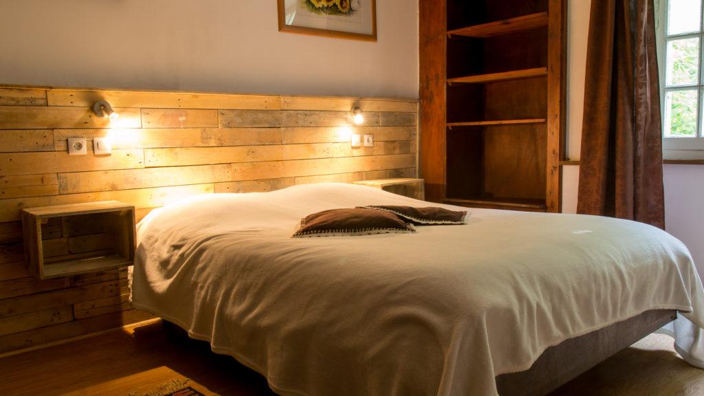 Heerlijke bedden in een authentieke kamer