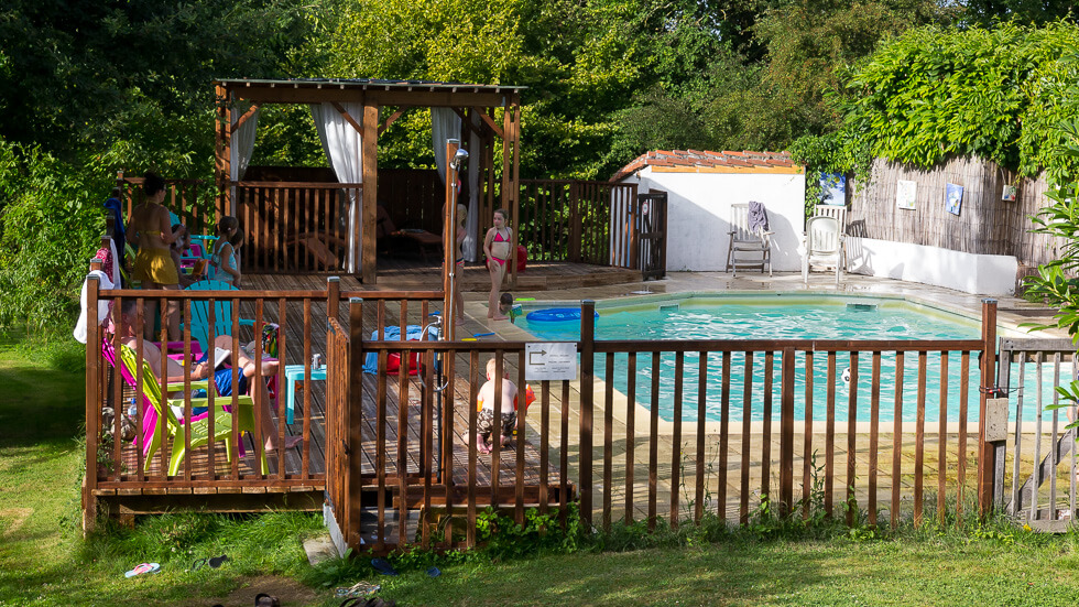 En uiteraard hebben we ook een eigen zwembad